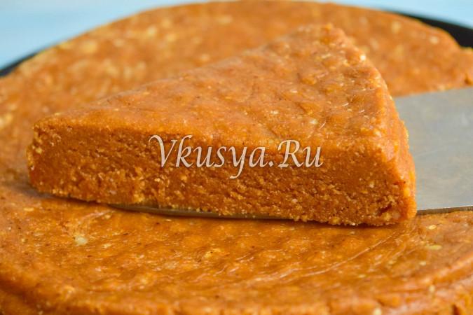 Изумительный торт без выпечки из печенья