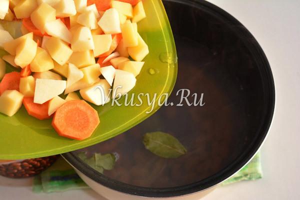 Выложите в суп