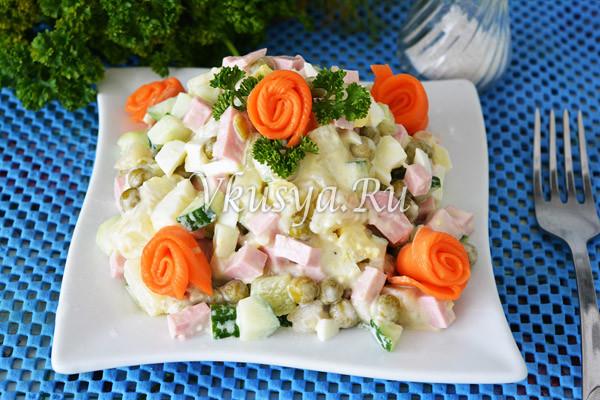 Украсьте салат