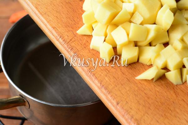 Выложите картофель