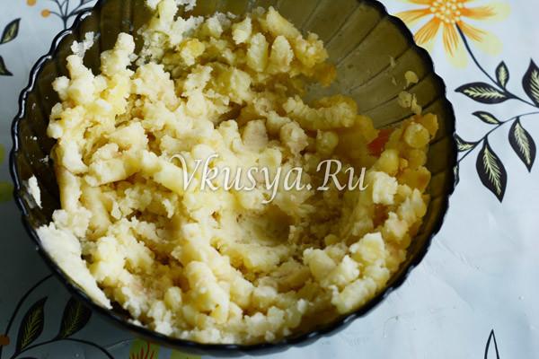 Подавите картофель