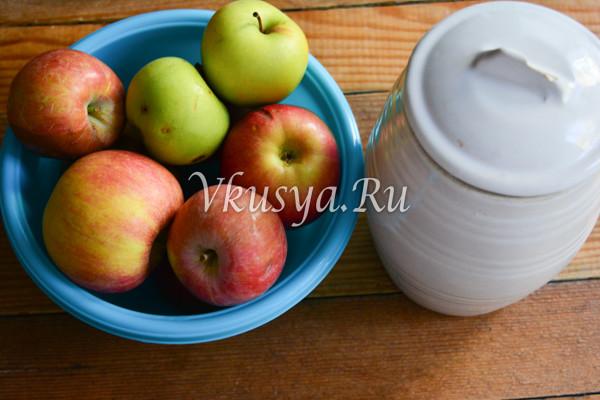 Сок из яблок на зиму-1