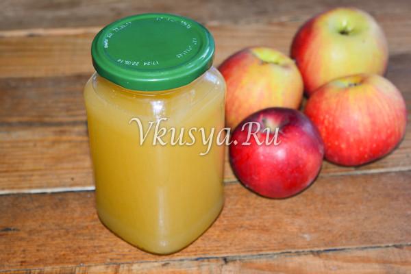Сок из яблок на зиму-9