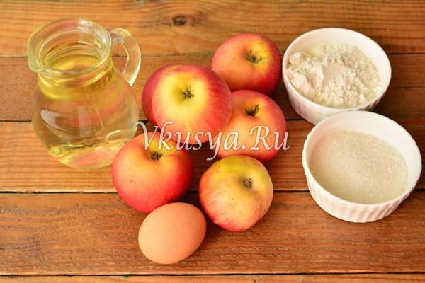 Драники из яблок-1