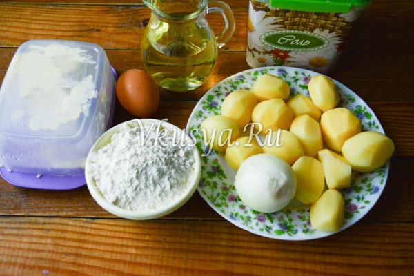 Ленивые вареники из картофеля-1