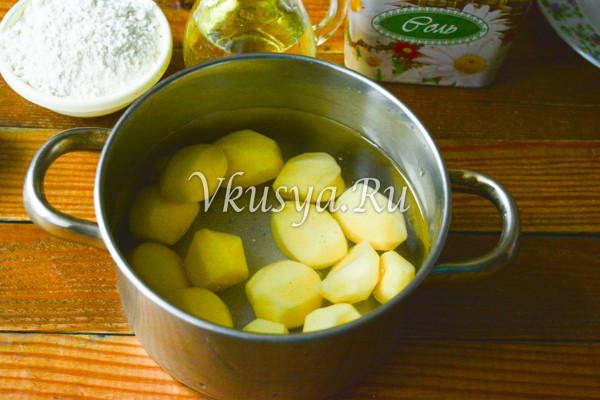 Ленивые вареники из картофеля-2