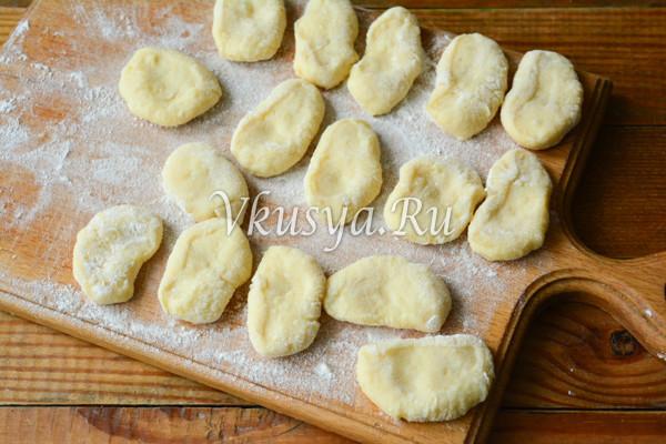 Ленивые вареники из картофеля-7