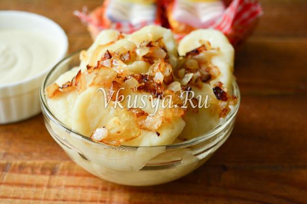 Ленивые вареники из картофеля-8